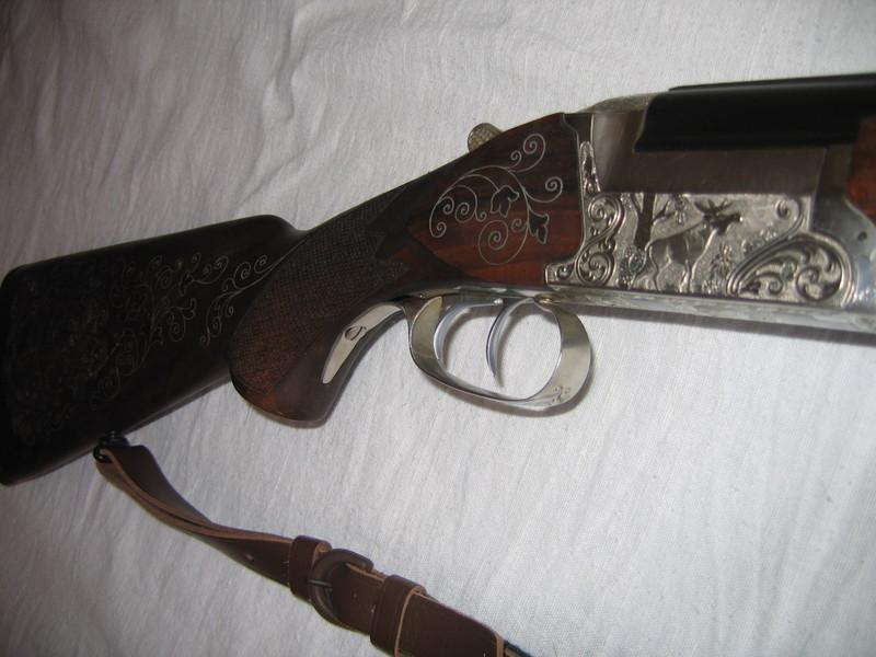 художественная резьба прикладе ружья