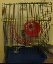 Клетка для грызуна 3-х этажная (хомяк,  песчанка...)