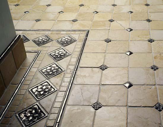 Особенности напольной керамической плитки