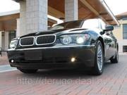 BMW 745 Е65 Long. Аренда авто с водителем в Минске.