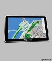 автомобильный gps-навигатор pioneer pa-538 Bluetooth, av-вход новый