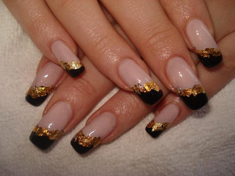 Nail art. дизайн ногтей осень 2011.  Автор LEDI chija.  В рубрике. out of.