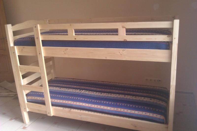 Как сделать двухъярусную кровать своими руками с чертежами