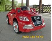 Детский электромобиль AUDI TT CABRIO (красный)  Новый год 2012