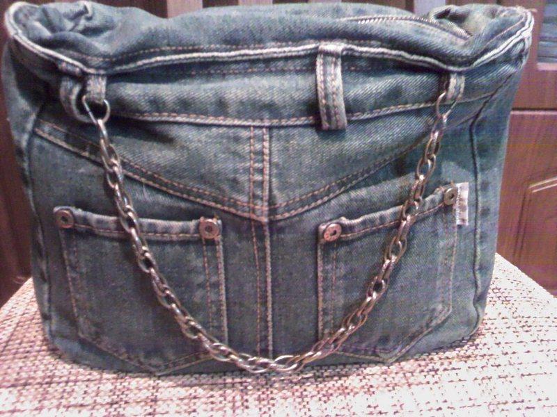 Ручка для джинсовой сумки