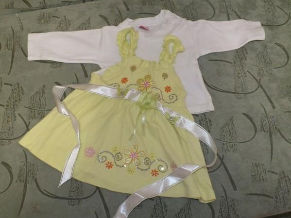 Сшить нарядное платье годовалой