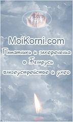 Памятники и захоронения в Минске,  благоустройство и уход.
