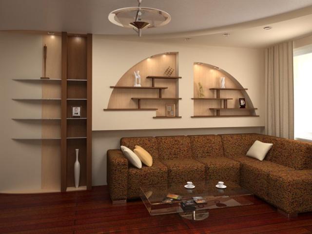 Дизайн интерьера с гипсокартоном