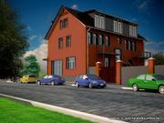 Проект дома.Эскизные проекты .8029 8763572.