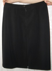 классическая черная юбка 48 р-р