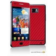 Смартфон Galaxy s 2 красного цвета