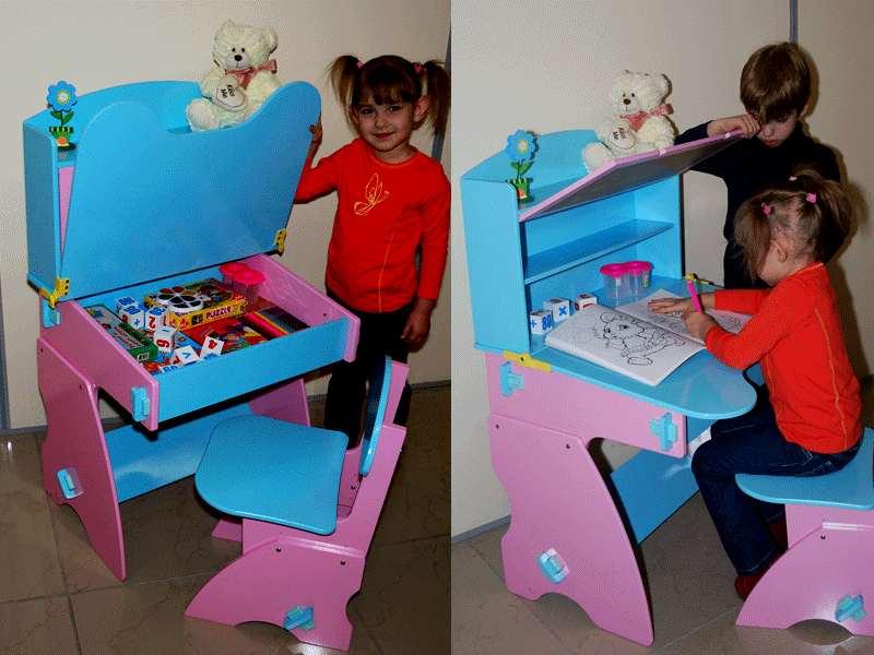 Как сделать стол своими руками для ребенка 382