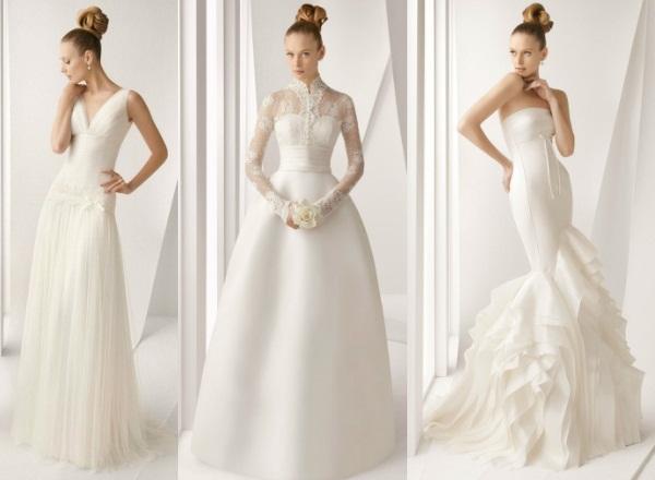 Фото сшитые своими руками свадебные платья