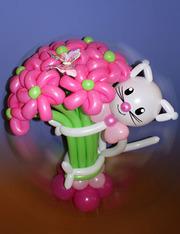 Композиции из воздушных шаров на заказ