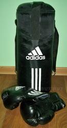 Детский набор для бокса adidas (груша + перчатки) adiBACJR