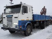 Грузоперевозки до 22 тонн автомобилем с гидроманипулятором