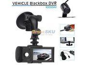 vehicle blackbox dvr X3000AV HD видеорегистратор с 2 камерами новый