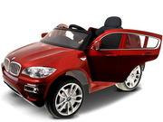 Детский электромобиль бмв x6 bmw x6 original бордо 2014