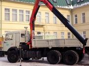 Аренда Гидроманипулятора 8 тонн