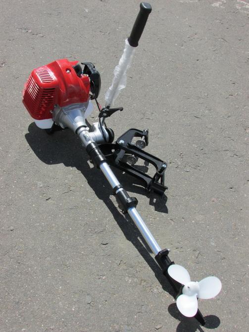 насадка для переделки триммера в лодочный мотор в кемерово