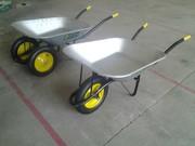 Тачка садово-строительная Shtenli 85-150 (1 колесо)