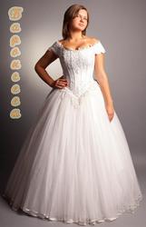 свадебное платье  полной невесте