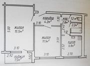 Двушка с раздельными комнатами Казинца,  39