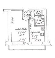 Продаётся 1-комнатная квартира по ул. Захарова,  67-2