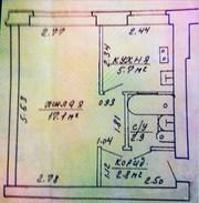 Продаётся 1-комнатная квартира по ул. Каховская,  70