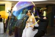 Шоу Больших Мыльных пузырей на свадьбу,  корпоратив,  день рождения