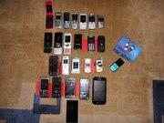 разные мобильные телефоны