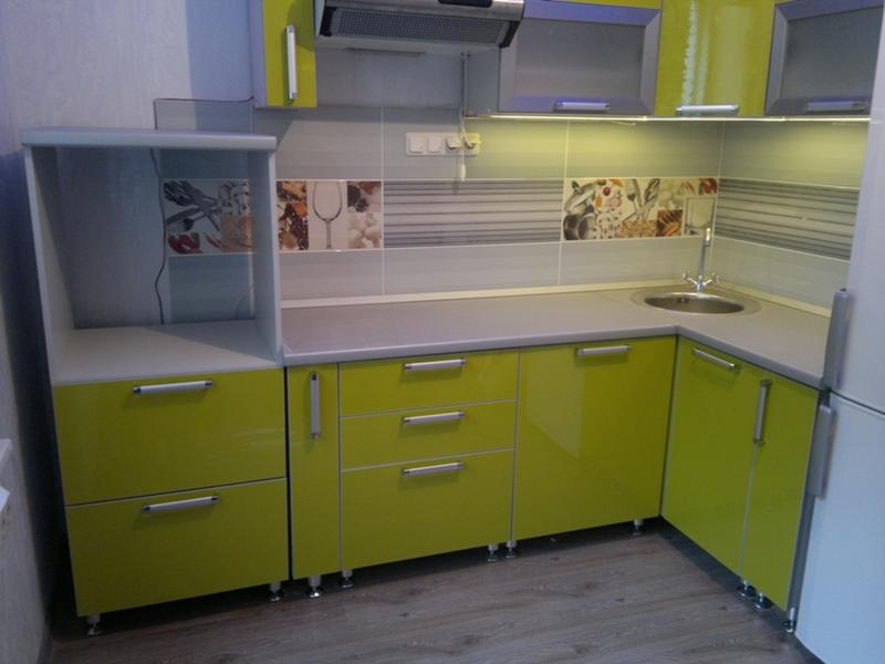 Кухня олива фото