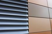 Ламели металлические фасадные (алюминиевые и стальные)