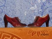 ботинки женские комбинированные