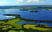 Действующая база отдыха на «Браславских озерах».