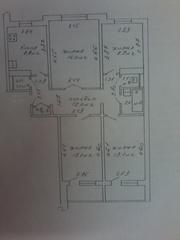 Четырехкомнатная квартира по ул. Никифорова 33