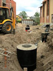 строительство систем канализации
