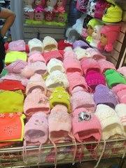 Детские шапки осень-зима