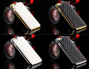 Роскошный и тонкий чехол для iPhone 6,  с кожаной задней крышкой