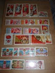 марки CCCР 1960-1991 год