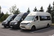 Прокат микроавтобусов,  автобусов с водителем