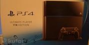 PlayStation 4 1TB + NBA LIVA 2015 + BF 4