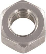 Гайка DIN 934 шестигранная,  сталь А2,  А4;  М3,  М4,  М5,  М6,  М8,  М10,  М12