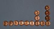 Монеты. 1 цент США 1902-1974