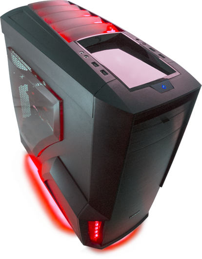 По настоящему мощный игровой компьютер - MC Cybersport Gamer IV