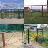 Ворота и калитки от производителя в Минске