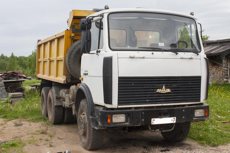 услуги маз 20 тонн минск