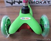 Детский самокат RS iTRIKE MINI (зеленый)