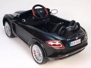Детский электромобиль Mercedes Benz SRL McLaren черный paint