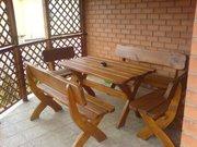 Мебель садовая из массива дерева